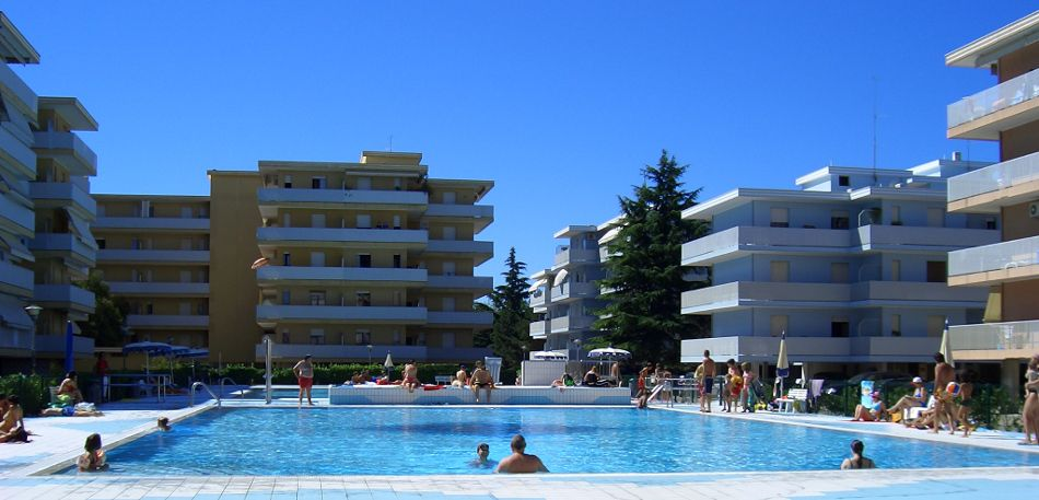 residence Valbella Bibione Spiaggia